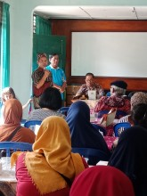 Kegiatan Sosialisasi Kampung Tangguh Bencana (KTB) Danunegaran Kel. Mantrijeron