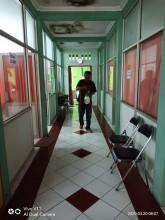 Desinfeksi Kantor Kelurahan Mantrijeron