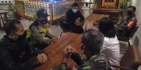 Lurah dan Tim Kelurahan Mantrijeron Sambang Cafe tegakkan protokol kesehatan minimalisir pandemi covid-19