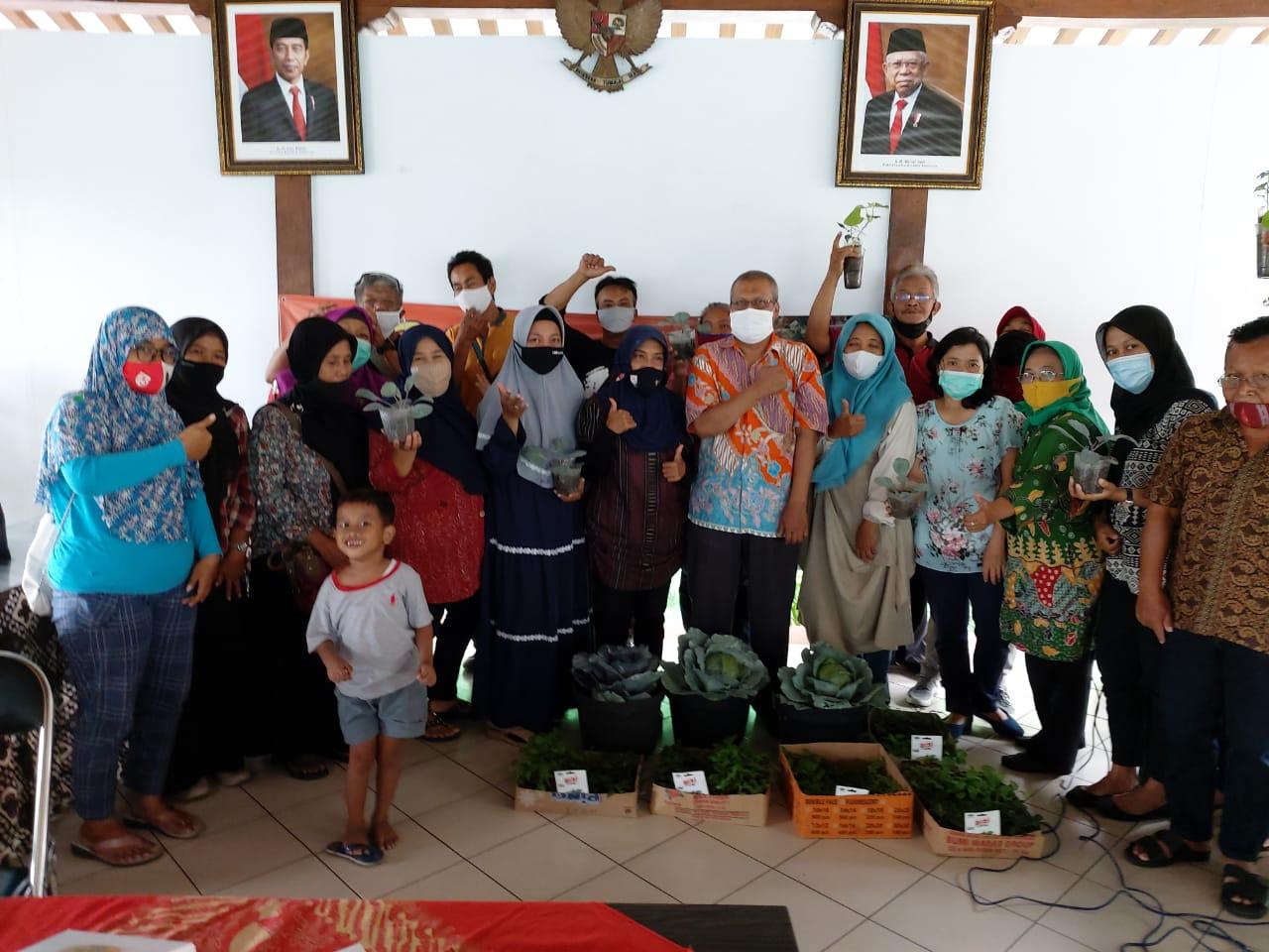 Kegiatan Pelatihan Kampung Sayur Kelurahan Mantrijeron Tahun 2020