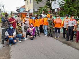 Giat Kerja Bakti dan Pencegahan Covid-19 di Kelurahan Mantrijeron