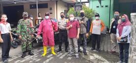 Giat Kerja Bakti Penyemprotan Desinfektan di Kampung Danunegaran