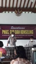 Sosialisasi PHBS, Gizi dan Konseling