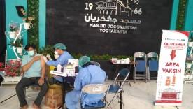 Percepatan Pelaksanaan Vaksinasi COVID-19 di Masjid Jogokariyan